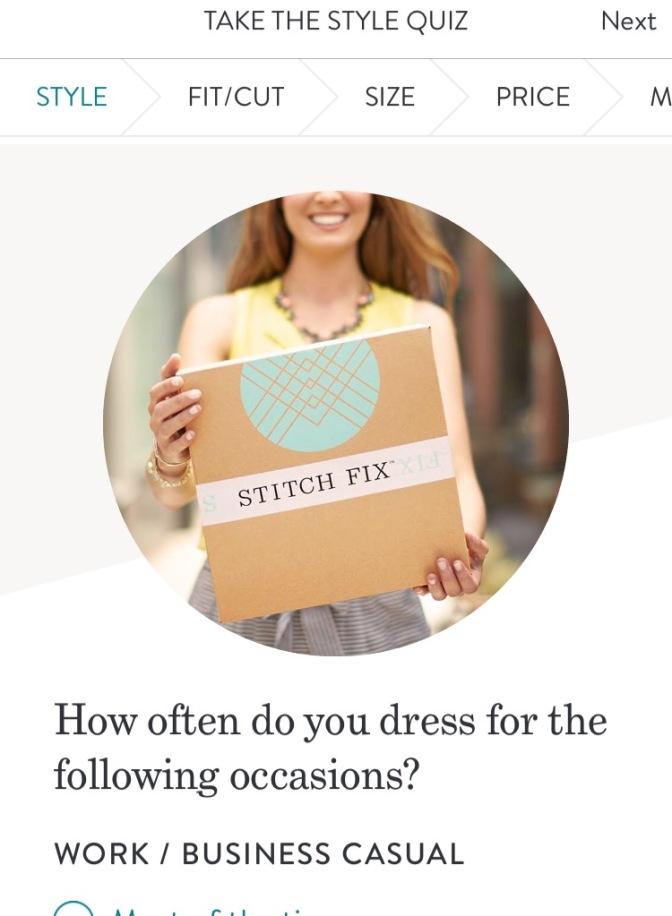 April Stitch Fix