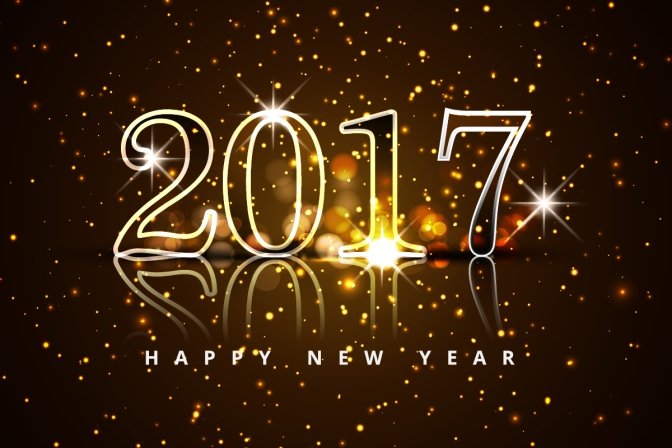 Happy New Year!! Welcome 2017!!!